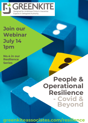 People & Operational Resilience - Covid & Beyond
